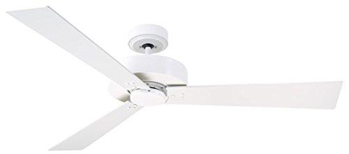 (Emerson Lighting CF320WSW Keane Ceiling Fan, Satin White)