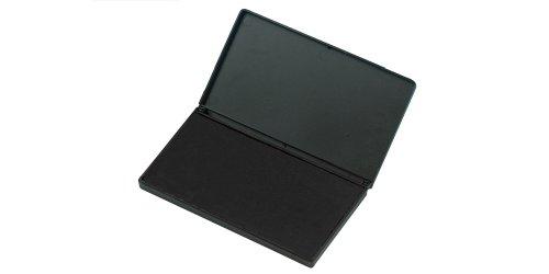 Charles Leonard Felt Stamp Pad, Large, 3.25 x 6.25 Inches, Black (92820)