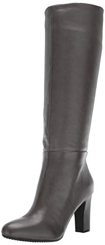 (Aerosoles Women's Hashtag Knee High Boot, Grey Leather, 9 M US )