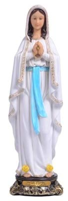 Woodington's Florentine Collection Our Lady of Lourdes 16 Inch Statue - Lourdes Florentine Statue
