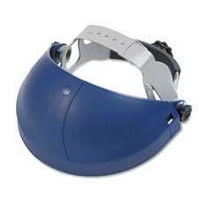 (- Tuffmaster Deluxe Headgear w/Ratchet Adjustment, Blue)