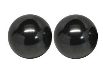 RBI Fortune Telling Toys 3/4'' Magnetic Hematite balls 10 Pairs Magical Crystal Healing Enlightenment
