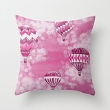 Busy Deals New Hot Air Balloons #2 - Pink Pillowcase Home Decoration pillowcase covers (Hot Air Balloon Hamper)