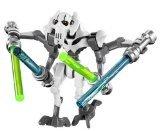 LEGO Star Wars - General Grievous WHITE minifigure (Star Wars The Clone Wars Darth Vader)