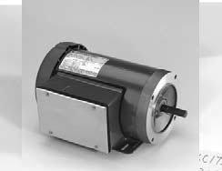 Marathon D313 56C Frame 56C34F5303 TEFC General Purpose Motor, 1 Phase, C-Face, Ball Bearing, 1 hp, 3600 rpm, 1 Speed, 115/208-230 VAC