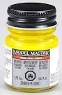 Testors Model Master Car Enamel Paint 1/2 ounce Gloss Bright Yellow 2717 (Testors Enamel Paint Yellow)