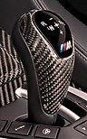 F06 M5 M6 M Performance Carbon Fiber Shift Knob Trim For DCT (Bmw M Pedals)