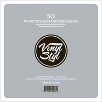- Vinyl Styl 72261 Protective Outer Record Sleeves - 50 Pack