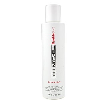 Super Sculpt ( Quick-drying Styling Glaze ) - Paul Mitchell - Flexible Style - 250ml/8.5oz (Mitchell Glaze Super Sculpt Paul)