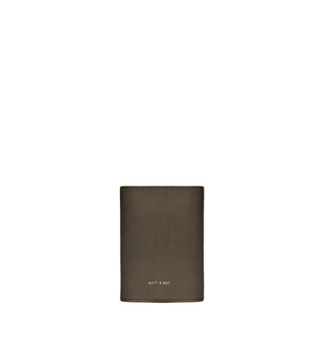 Matt and Nat Voyage Vintage Passport Case, Kale