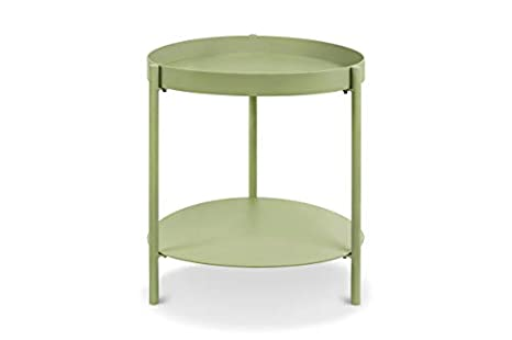 Amazon.com: Capsule Ovoid Side Table, Pale Green: Kitchen ...