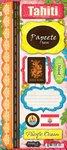 Scrapbook Customs - World Collection - Tahiti - Cardstock Stickers - (Tahiti Collection)