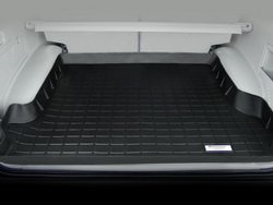 (WeatherTech Custom Fit Cargo Liners for BMW 5-Series, Black)