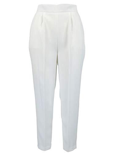 Poliéster Franchi Blanco Pantalón Elisabetta Pa25991e2360 Mujer 8qBdxa8wI