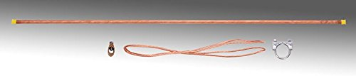 Copper Grounding Kit with Copper Rod & Wire USA Made - New! (Earthing Rod)