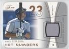 Mark Teixeira #2/8 (Baseball Card) 2004 Flair - Hot Numbers Game Used - Copper Die-Cut #HN-MT