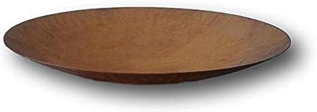 Durchmesser 40 cm Schale aus Edelrost rund