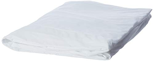 LINENSPA Zippered Encasement Waterproof, Dust Mite Proof, Bed Bug Proof, Hypoallergenic Breathable Mattress Protector - Queen Size