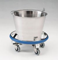 Pedigo Stainless Steel Kick Bucket