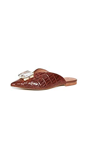 Jeffrey Campbell Women's Melisa J Mules, Cognac Croco, Brown, 9 M US