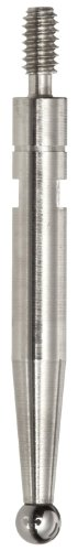 Brown & Sharpe TESA 74.105998 Carbide Ball Tip Measuring Insert for Interapid 312 Dial Test Indicators, 0.65
