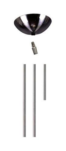 Elk ROD KIT-SN Satin Nickel Rod Kit Include1-6', 2-12' Extension Rods by ELK