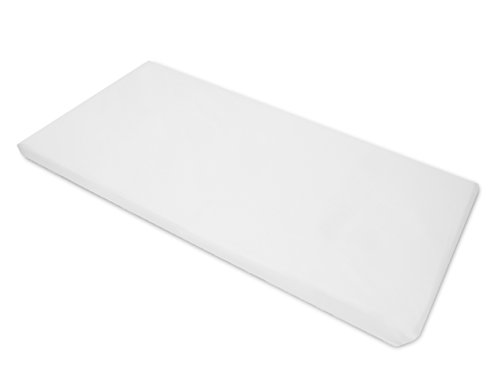 Rest Mats Day Care (American Baby Company Cotton-Polyester Blend, Fitted with Elastic Corners Standard Day Care Nap Mat Sheet, White, 24 x 48 x 4, for Boys and Girls)