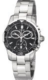 Victorinox Swiss Army Men's 241302 Alliance Sport Chronograph Black Dial Watch 11 Oclock Dial Watch