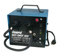 Pipe Thawing Machine - General Wire HS-400-LC Hot-shot Pipe Thawer without Cables, 400 Amp, Small