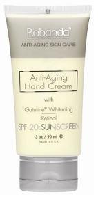 Crème Robanda main Anti-Aging, SPF 20 3 oz Soin des mains
