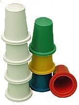 (Vernet Multicolored Thimble Set)
