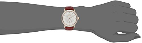 GV2 by Gevril Women's 9835 Marsala Analog Display Swiss Quartz Red Watch