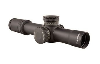 Trijicon RS27-C-1900026 AccuPower Riflescope with 34mm Main Tube, 1-8x28mm, Black