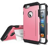 Obliq SkyLine Pro OBIP6P-SLP05 Heavy Duty Scratch Resist Kickstand Protective Slim Fit Armor Mobile case for iPhone 6 / 6s Plus - SK Pink