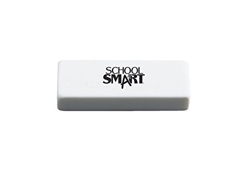 school-smart-latex-free-non-abrasive-soft-vinyl-eraser-2-12-x-78-x-12-in-white-pack-of-20