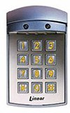 Weather Resistant Digital Keypad (Linear AK-21W WEATHER RESISTANT DIGITAL KEYPAD)