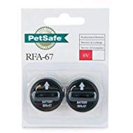 PetSafe Replacement Batteries 6 Volt (RFA-67D-11) Package of 2 ()