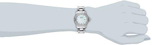 """Movado Women's 2600120 """"Series 800"""" Stainless Steel Diamond Bracelet Watch"""
