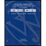 Read Online Intermediate Accounting, Rockford Corporation - An Accounting Practice Set - Text Only (11th, 03) by Kieso, Donald E - Weygandt, Jerry J - Warfield, Terry D [Paperback (2003)] pdf epub