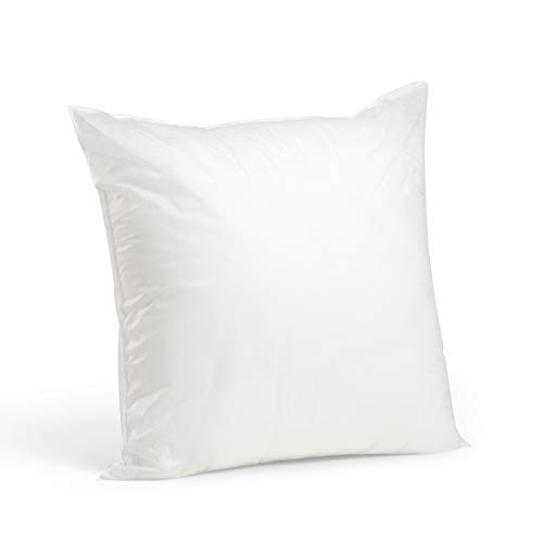 Square Poly Fill Pillow Insert - Foamily Premium Hypoallergenic Stuffer Pillow Insert Sham Square Form Polyester, 20