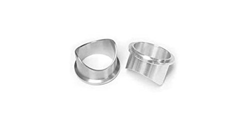 XS-POWER Tial 50mm /& Tial Q BOV Stainless Steel Weld On Flange
