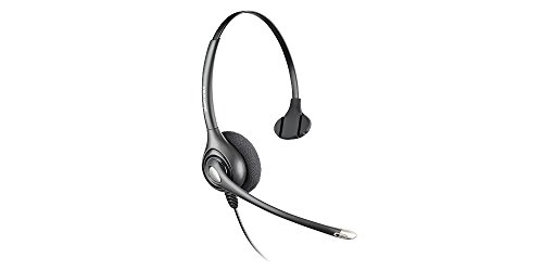 Plantronics SupraPlus Wideband Noise-Canceling Headset with Plantronics Vista M22 Amplifier and A10 Cord (Bundle of 3 ()