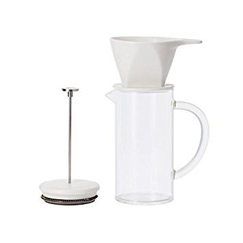 The Pour Over Press - 3 in 1 Coffee Brewer by WP