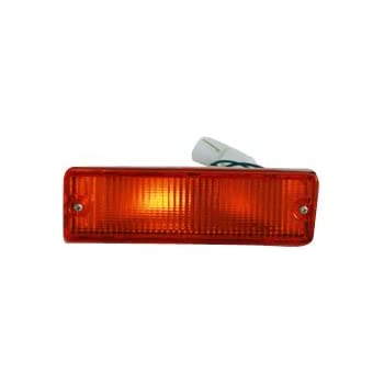 TYC 12-1230-52 Nissan Front Driver Side Replacement Parking//Signal Lamp Assembly