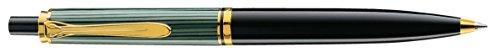 Pelikan 985267 Druckkugelschreiber Souverän K 400, schwarz/grün