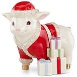 Santa's Elf Pig Figurine by (Santa Pig)