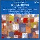 Piano Serenade Op 17 / Piano Sonata 1 Op 26 by Stoker