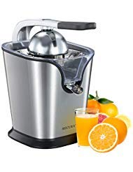 Secura Upgrade Electric Citrus Juicer Press | 160-Watt Stainless Steel Orange Juice Squeezer