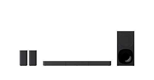 Sony HT-S20R 5.1 TV Soundbar Dolby Surround met bekabelde subwoofer en luidsprekers aan de achterkant, Zwart