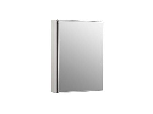 Kohler K-Cb-Clc2026Fs Frameless 20 Inch X 26 Inch Aluminum Bathroom Medicine Cabinet; - Bathroom Cabinet With Mirrors Vanity And